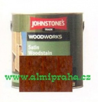 Almi - Johnstones Satin Wood Redwood 5,0 l