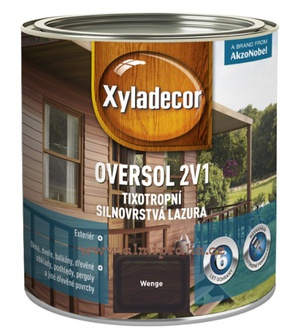 Almi - Xyladecor Oversol 2v1 wenge 2,5 l